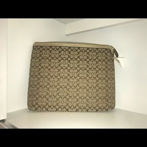 Coach tablet / laptop case NWT